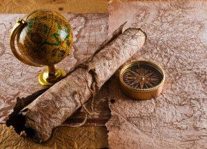 compass-scroll-map