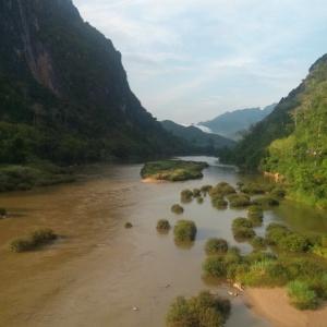 River Ou Nong Kiaw Laos