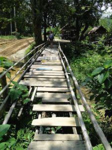 Ponte em Laos - Nong Khiaw