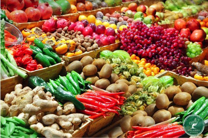 Mosaico Natural Alimento Organico Stela Kiill