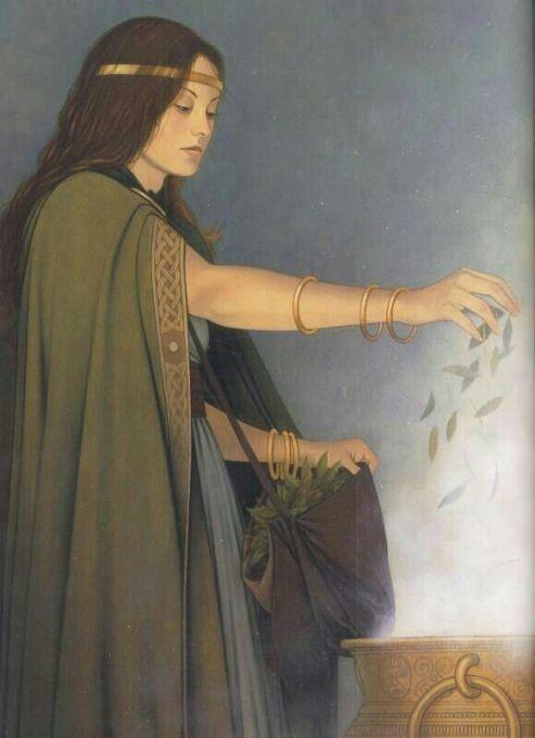 Celebração do Dia 03 DE JULHO Festival celta celebrando a deusa da fertilidade e inspiração Cerridw
